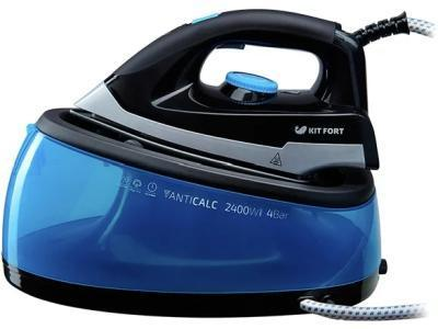 Парогенератор Kitfort KT-922 черный-синий