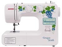 Швейная машина Janome Grape 2016 белый-зеленый