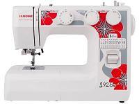 Швейная машина Janome J925S белый-красный