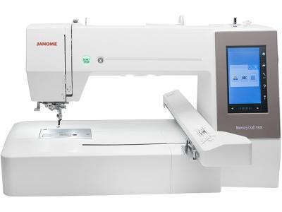 Вышивальная машина Janome Memory Craft 550Е белый