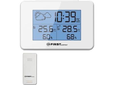 Цифровая метеостанция First FA-2461-6-WI белый