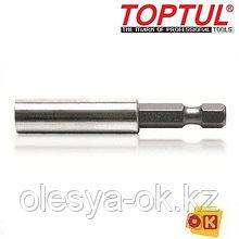 Универсальный магнитный держатель д/бит TOPTUL