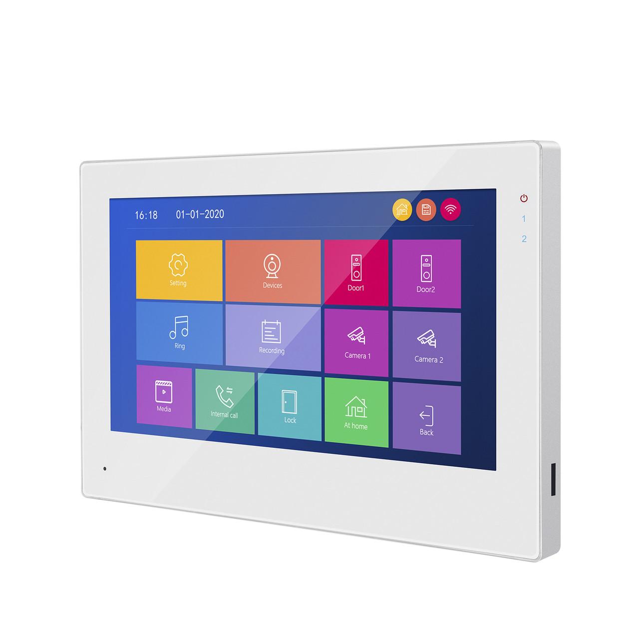 Комплект Видеодомофон Сенсорный Wi-Fi 95703H-1080P + 94201-AHD1080P