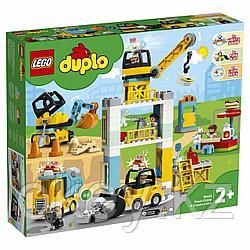 LEGO Duplo: Башенный кран на стройке 10933
