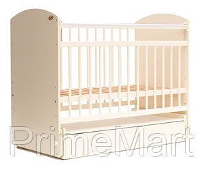 Кровать детская Bambini Элеганс M 01.10.07 Слоновая кость
