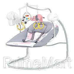 Электрокачель Kinderkraft MINKY Pink