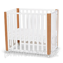 Детская кроватка Kinderkraft с матрасом KOYA White