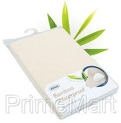 Наматрасник непромакаемый Plitex Bamboo Waterproof Lux с бортами 1020x1620