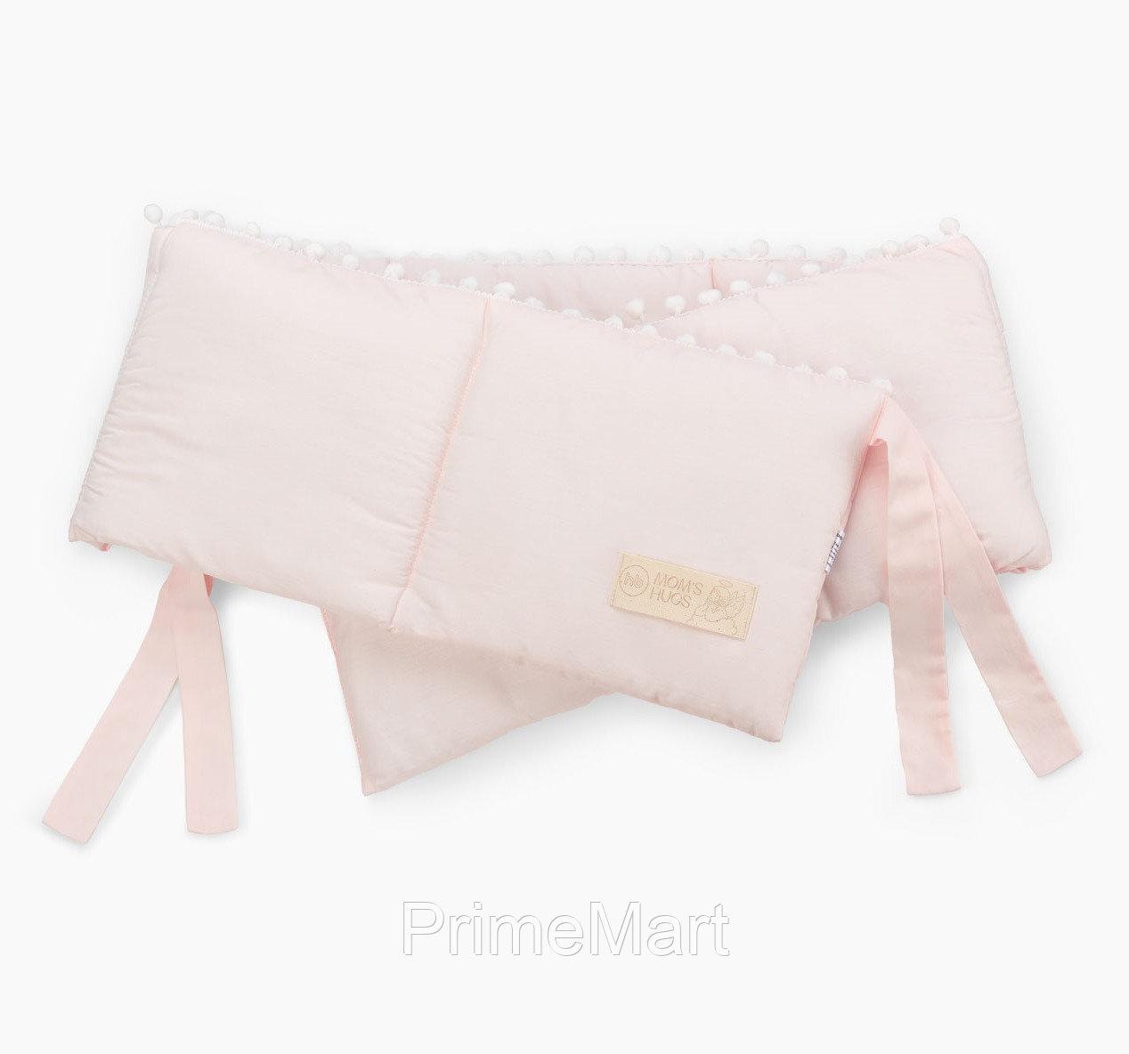 Бортик в кроватку Happy Baby 87534 Pink