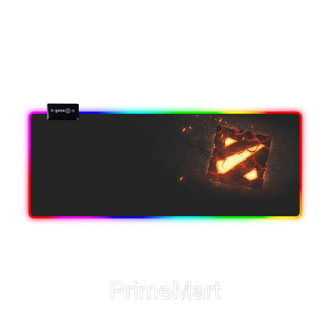 Коврик для компьютерной мыши X-Game Dota 2  (Extra Large Led)