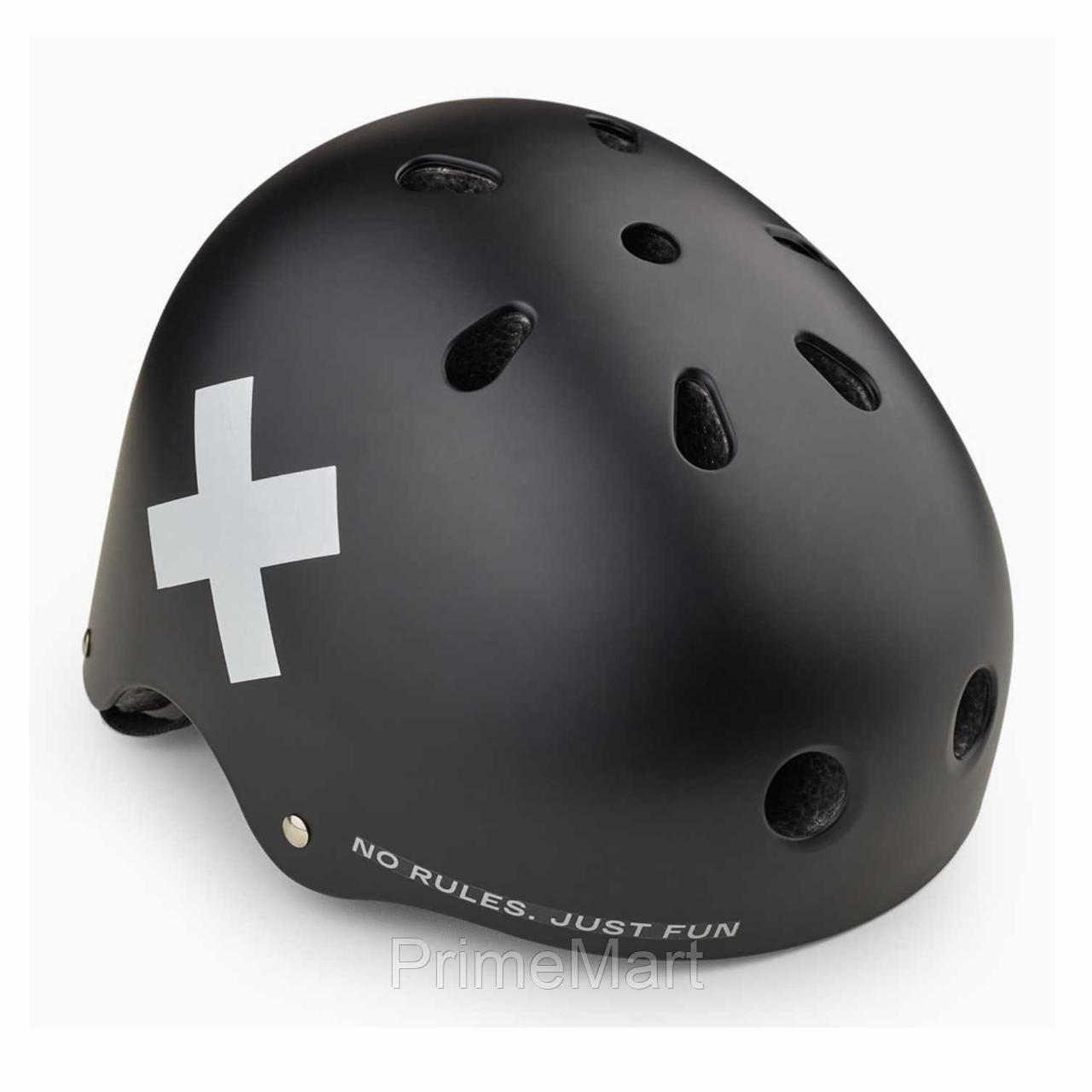 Шлем защитный Happy Baby DRIFTER 50018 Black