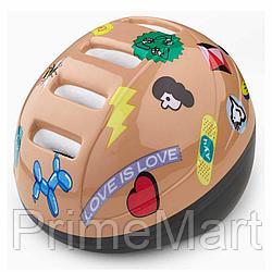 Шлем защитный Happy Baby STONEHEAD size S Sand