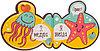 Книжка-Игрушка для ванной Happy Baby Book4bath Aquarium, фото 5