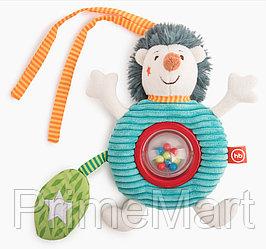 Подвесная погремушка-колокольчик Happy Baby Ёжик Федя