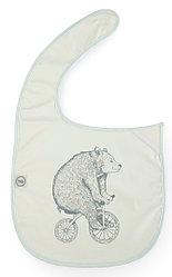 Нагрудный фартук Happy Baby на липучке 16009 Bear