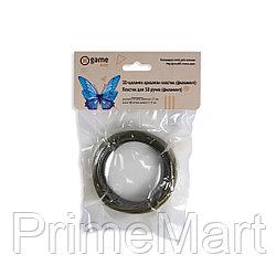 Филамент (нить) для 3D ручки Черный PLA 10м.