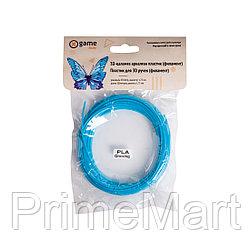 Филамент (нить) для 3D ручки Голубой PLA 10м.