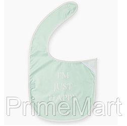 Нагрудный фартук Happy Baby на липучке 16009 Aqua