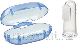 Зубная щетка на палец Happy baby Silicone Finger Toothbrush 20008 Aqua