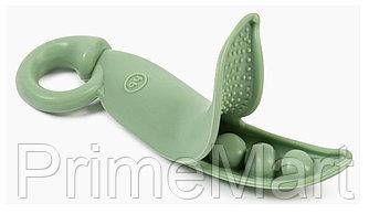 Прорезыватель Happy Baby силиконовый 20035 Olive