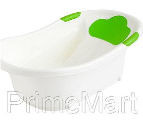 Ванночка Roxy Kids с анатомической горкой и сливом Зеленая