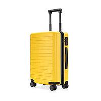 Чемодан Xiaomi 90 Points Seven Bar Suitcase 24 Желтый