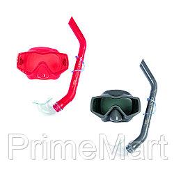 Набор для плавания Bestway 24037 в упаковке: маска, трубка