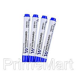 Маркер для досок 2.8 мм. Comix WB701, синий (упак./12 шт.)