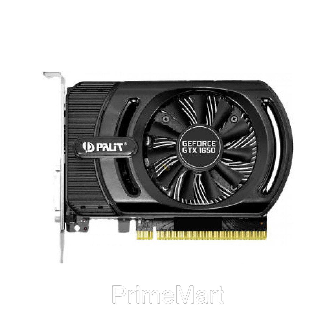 Видеокарта PALIT GTX1650 STORMX 4G (NE51650006G1-1170F)