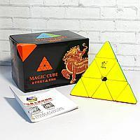 Скоростная головоломка пирамидка YuXin Black Kirin Pyraminx