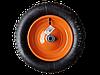 Колесо пневматическое КТ-360-16 (360 мм, d 16мм, для тачки 65-1)