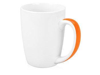 Кружка Good Day 320мл, белый/оранжевый