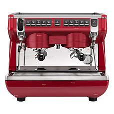 Кофемашина рожковая Nuova Simonelli Appia Life Compact 2Gr V высокие группы, экономайзер, красная