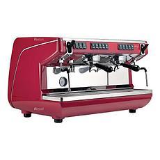Кофемашина рожковая Nuova Simonelli Appia Life 2Gr V высокие группы, экономайзер, красная