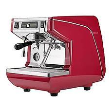 Кофемашина рожковая Nuova Simonelli Appia Life 1Gr S высокая группа, красная