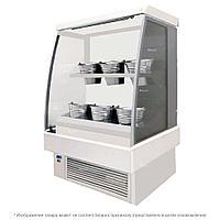 Минигорка холодильная цветочная ES-SYSTEM K RCS SCORPION 02 MINI FL 0,9 белая