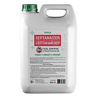 Антисептик для кожи Settica SEPTANAIZER , 5 л канистра (гель или жидкий)