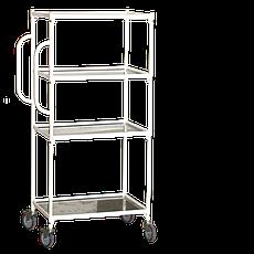 Медстальконструкция Тележка-стеллаж внутрикорпусная МСК-522