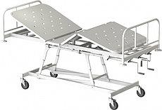 Медстальконструкция Кровать медицинская функциональная трёхсекционная КМФТ171-МСК (код МСК-171)