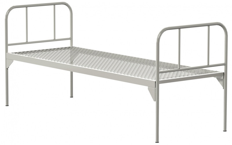 Медстальконструкция Кровать металлическая общебольничная КФ0-01-МСК (код МСК-107)