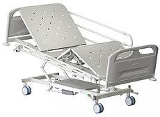 Медстальконструкция Кровать медицинская функциональная трёхсекционная КМФТ140-МСК (код МСК-140Т)