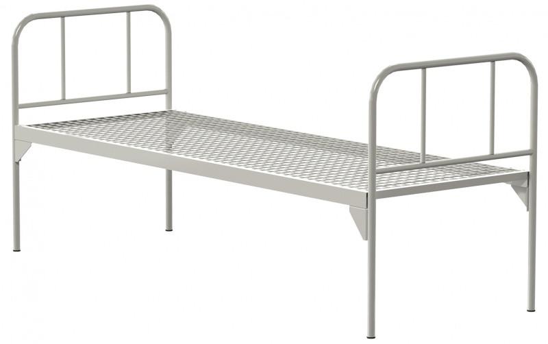 Медстальконструкция Кровать металлическая общебольничная КФ0-01-МСК (код МСК-117)
