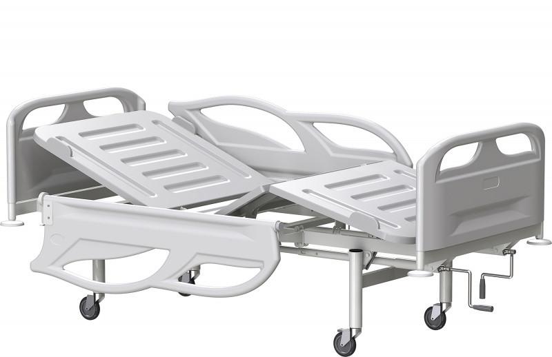 Медстальконструкция Кровать медицинская функциональная трехсекционная КФЗ-01-МСК (код МСК-3103)