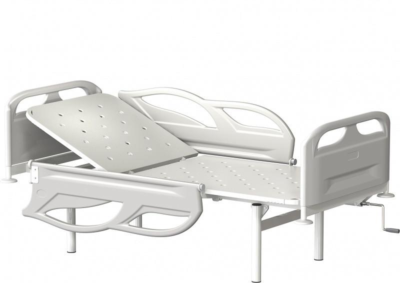 Медстальконструкция Кровать металлическая общебольничная с подголовником КФО-01-МСК (код МСК-2105)