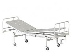Медстальконструкция Кровать медицинская функциональная двухсекционная КФ2-01-МСК (код МСК-1102)