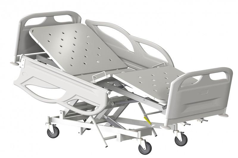 Медстальконструкция Кровать медицинская функциональная трёхсекционная КМФТ145-МСК (код МСК-2145)