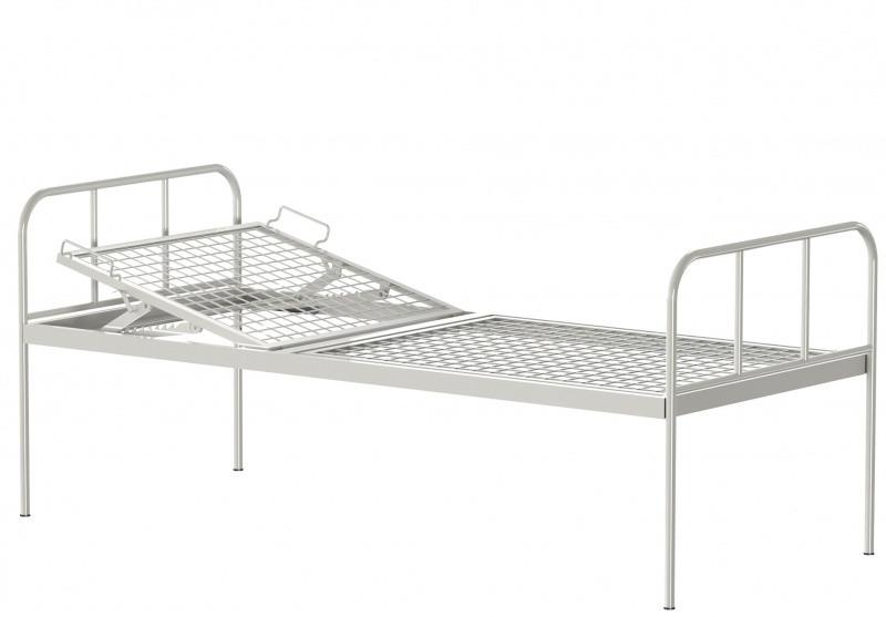 Медстальконструкция Кровать металлическая общебольничная КФ0-01-МСК (код МСК-136)