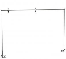 Медстальконструкция Штанга двухопорная (рама Балканского) металлическая (код МСК-115)