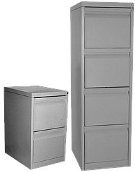 Медстальконструкция Шкаф картотечный с тремя ячейками для документов  МСК-831.03