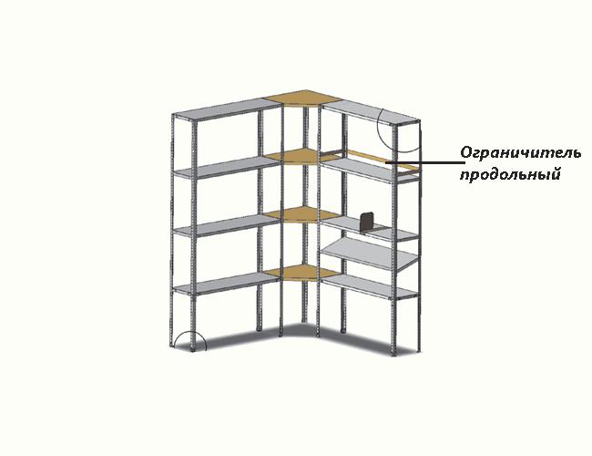 Медстальконструкция Ограничитель продольный МСК-809.010